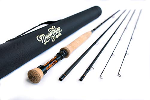 Moonshine Rod Co. The Epiphany Series (Euro/Czech Nymph Style) Fly Fishing Rod 3wt 10'6