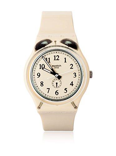 Swatch Unisex Armbanduhr SVEGLIA Analog Quarz Kunststoff GT105