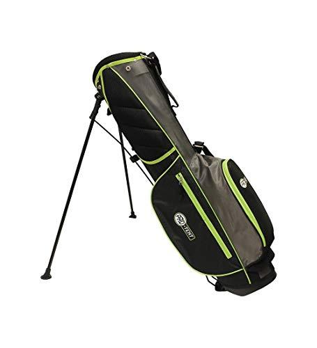 Pro-Tekt Golftasche, Schwarz/Grau/Grün, Einheitsgröße