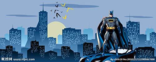 3d Erstaunliche Batman Wandbild Benutzerdefinierte Große Fototapete Super Hero Raumdekor Wandkunst Schlafzimmer Kinderzimmer Hintergrund Wand