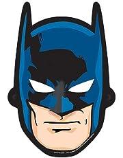 أقنعة ورقية باتمان من امسكان، 8 قطع - 360104، أزرق