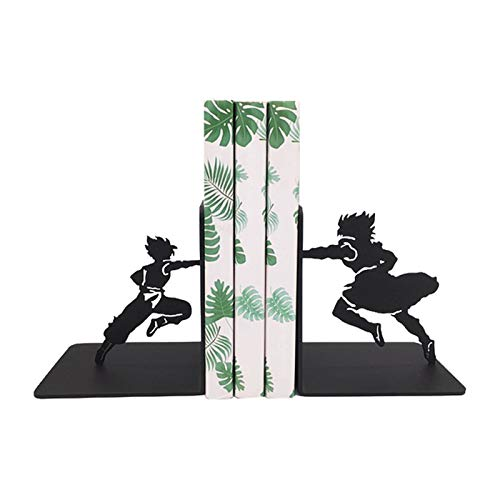 WSJTT Kung Fu Serie Bookends Black Metal...