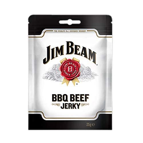 Jim Beam BBQ Beef Jerky - Box of 15 x 25 Grams