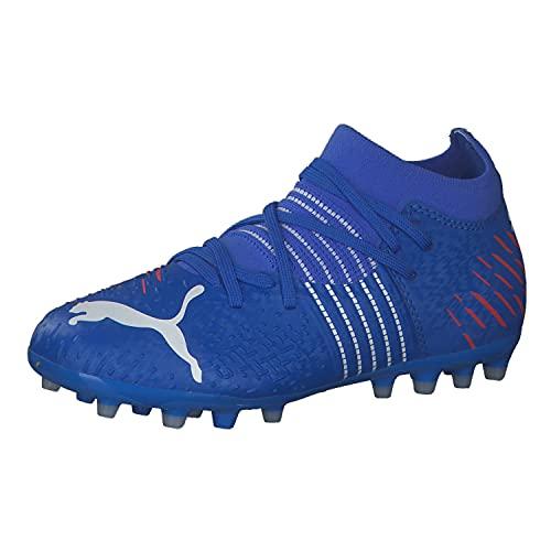 Puma Future Z 3.2 MG Jr, Zapatillas de fútbol, Bluemazing Sunb, 35.5 EU