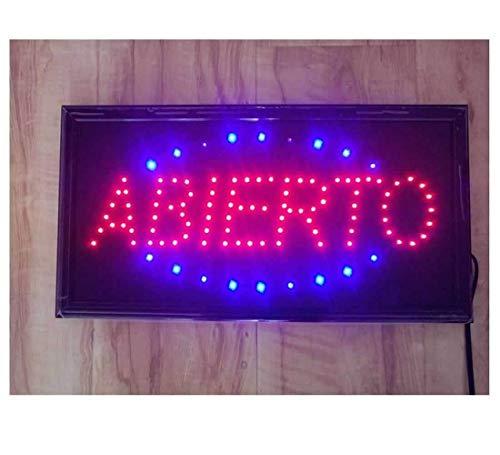 Luces De Neu ¨ n Del LED Animados Muestra ¡° Abierta Fina ¡° Clientes Reizendes Sesi ¨ n Tienda Letrero De Tienda
