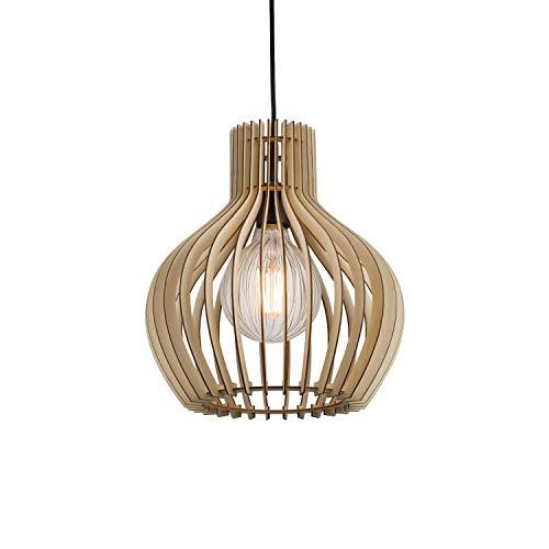 Nordlux Groa 45683014 Pendelleuchte LED E27 60W 31cm - braun