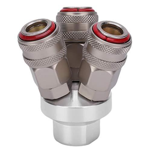 Acoplador rápido de rosca G1 / 4in Componente neumático de alto factor de seguridad para conexiones de tubería