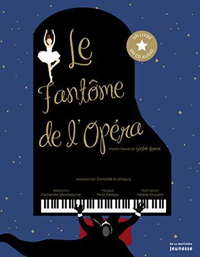 Le Fantôme de l'Opéra -Livre CD audio-