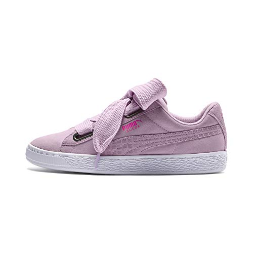 PUMA Suede Heart Street 2 Wn's, Zapatillas para Mujer, Rosa (Winsome Orchid-Winsome Orchid 03), 38 EU