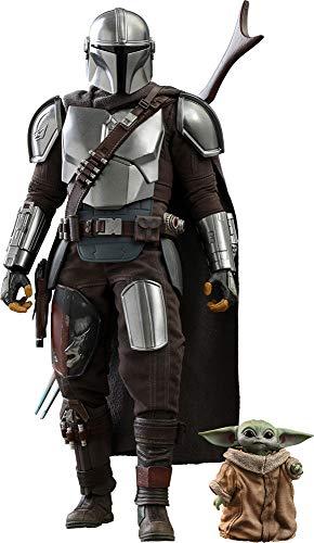 Hot Toys Star Wars TMS014 - Juego coleccionable de 1/6 de Star Wars The Mandalorian and The Child (versión estándar)