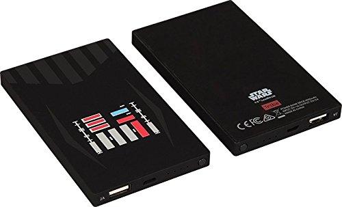 Tribe Star Wars - Cargador portátil(4000mAh) batería externa móvil para celulares, diseño Darth Vader