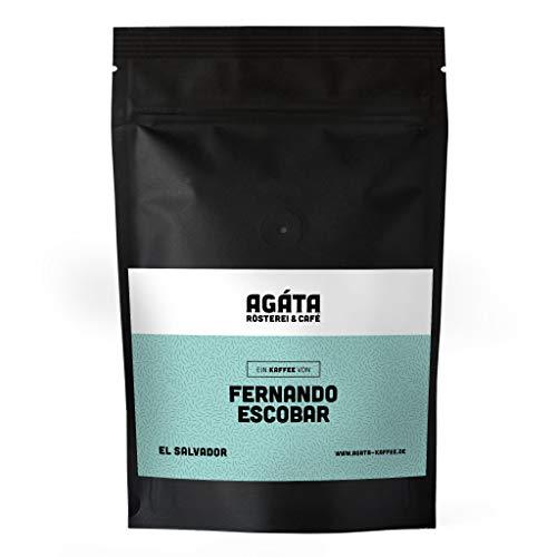 AGÁTA Rösterei Fernando Escobar Filterkaffee Pacamara 250g ganze Bohnen