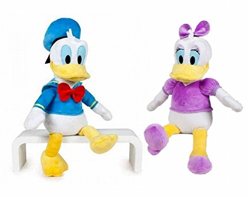 Disney - Pack peluches Daisy y Donald 40cm - Calidad super soft