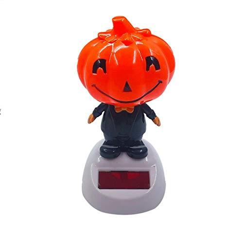 Kapokilly Solarbetriebene Tanz Animiert, Solar Swinging Animierte Bobble Dancer Spielzeugauto Dekor Kinder Spielzeug Geschenk, Kopf Schütteln Puppe (Keine Batterie Erforderlich)