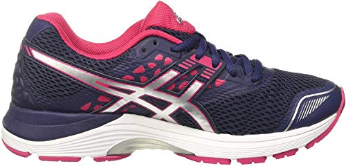 Asics Gel-Pulse 9, Zapatillas de Running para Mujer, Morado (Indigo Blue/Silver/Bright Rose 4993), 37 EU