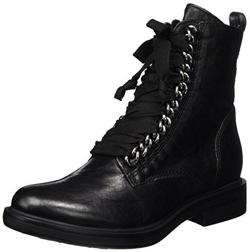 Mjus Damen 544229-0802-6002 Combat Boots, Schwarz (Nero), 42 EU
