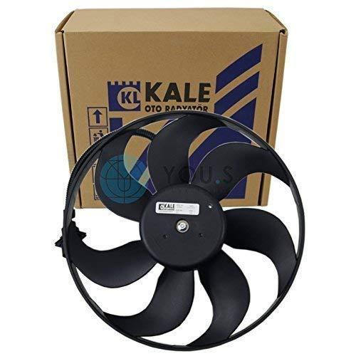 Kale Refroidissement Moteur Moteur de Ventilateur Diamètre: 345 mm puissance Nominale: 250/60 W - 6QD959455