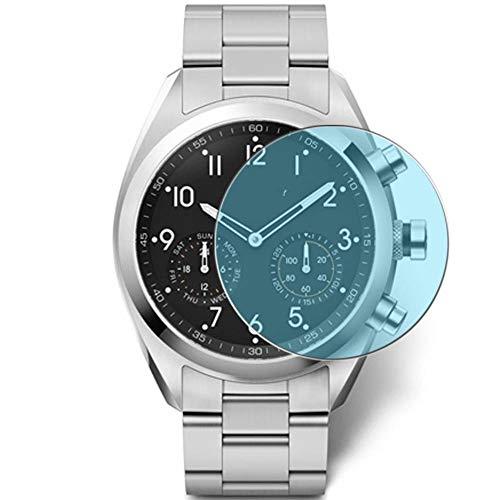 Vaxson 3-Pack Anti Luce Blu TPU Pellicola Protettiva, compatibile con Kronaby Sekel Apex Smartwatch (41mm), Screen Protector Film [ Non Vetro Temperato ]