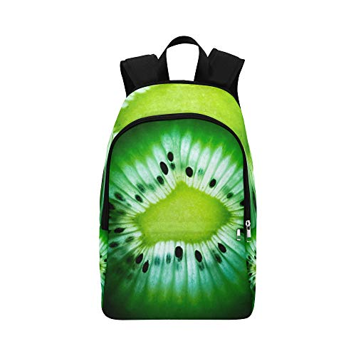 Fruit Food Juicy Desktop Freshness Abstract Color Casual Daypack Travel Bag College School Backpack for Mens and Women