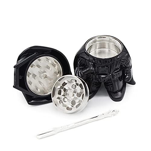 Herb Grinder Kit 9 Pack with Darth Vader Grinder,Death Star Grinder,Death Trooper Straw,Stormtrooper Straw,Child…