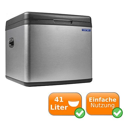 kühlbox Geräuschlose Absorber System und möglichem Betrieb über Gas 240V Steckdose und 12V Zigarettenanzünder mit 41L Fassungsvermögen nur für Deutschland geeignet