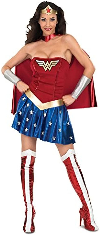 Costume del supereroe Wonderdonna Sexy degli anni ' 80 XS (UK 8)