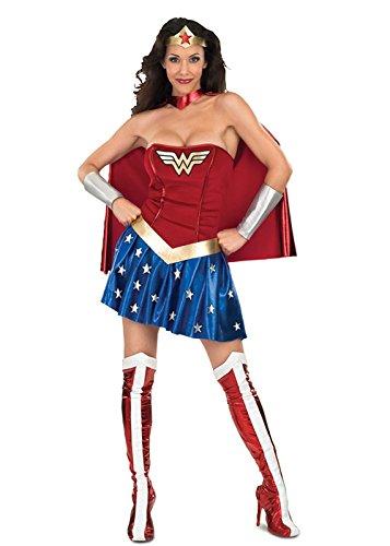 Wonder Woman Sexy Superhelden Kostüm S (UK 10)