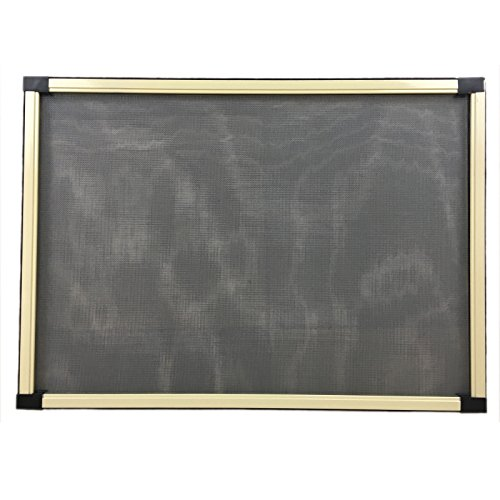 Pannello Zanzariera telaio in alluminio bianco finestra porta set. 2 pz. 50 cm x 70 cm anti insetti protezione zanzare EV