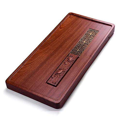 Learn More About HIZLJJ Solid Wood Reservoir & Drainage Type Kung Fu GongFu Tea Table Serving Tray T...