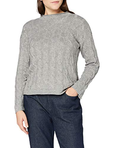 United Colors of Benetton 1335D2467 Maglione, Grigio 82P, M Donna