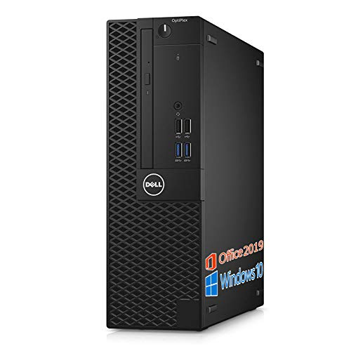 DELL デスクトップPC 3050/MS Office 2019/Win 10 Pro/Core i5-6500/HDMI/wajunのWIFI/Bluetooth/DVD-RW/16GB/1TB SSD (整備済み品)