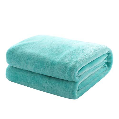 , Maße Decke Sarah:150 cm x 200 cm, Farbe H+D:13-5409 TCX Mint