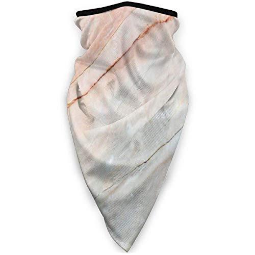 JINZUO Marble Onyx Stone Textured Natural Funny Windproof Stretchable Neck Warmer Men Women Headwear Half Face Cover Magic Headband Elastic balaclava Bandana for Outdoor Sport balaclavas