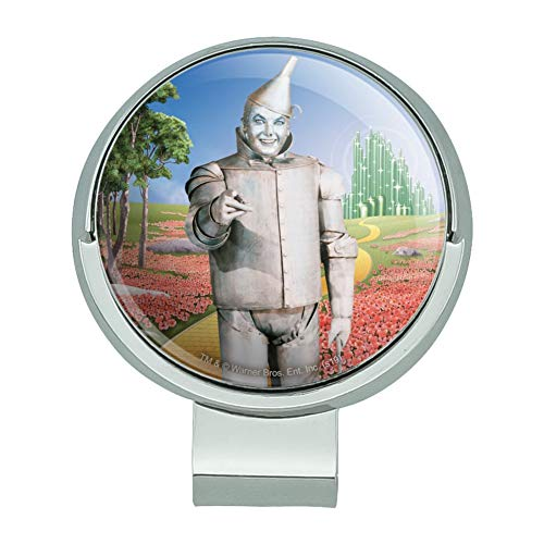 GRAPHICS & MORE Wizard of Oz Tin Man Character Golf Hat Clip with Magnetic Ball Marker
