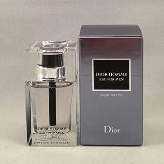 Dior Homme Eau for Men EDT Splash 10 Ml/.34 Oz Deluxe Sample Mini NIB