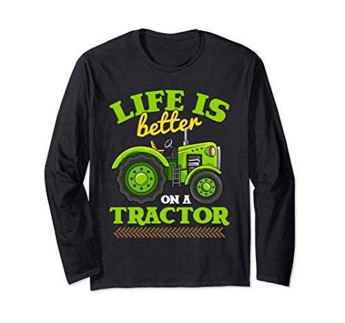 Funny Life Is Better On A Tractor Farm Truck Manga Larga