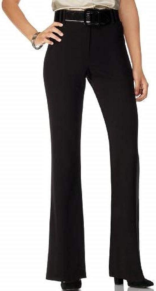 Style & Co. Women's Flare Leg Black Pants