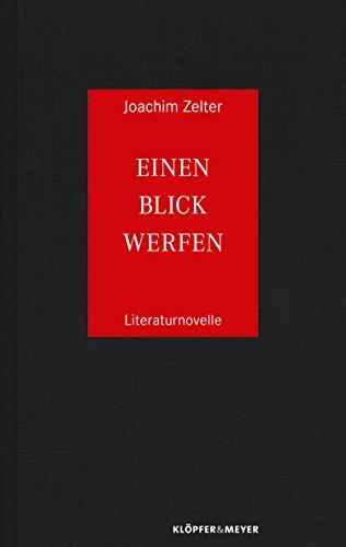 Einen Blick werfen: Literaturnovelle