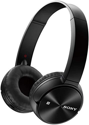 Sony MDR-ZX330BT Cuffie Wireless con Microfono Integrato, Bluetooth, NFC, Micro-USB, Nero