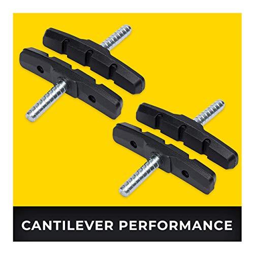 Cantilever Zapatas Freno 2 Par 70mm Symmetric I para Shimano, Tektro, Avid,...