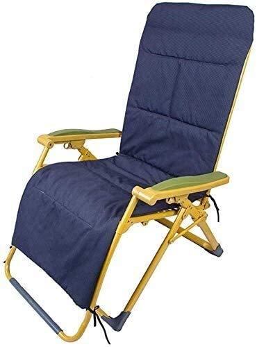 Sillones reclinables, sillas de playa, sillas de playa plegable al aire libre del jardín Sillas de cubierta del marco Patio En recubierto de polvo de tela de acero resistente a la intemperie y malla