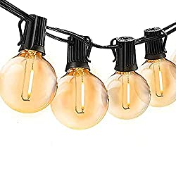 👉🏻【GUIRLANDE LUMINEUSE EXTERIEUR ETANCHE IP45】 Ces guirlandes lumineuses à LED sont étanches, vous pouvez donc les utiliser sans souci même par mauvais temps.Vous pouvez les installer dans votre jardin ou dans un lieu en plein air et profiter de la b...