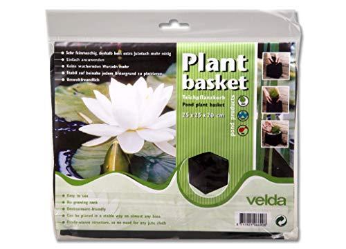 Velda Pflanzkorb Teichkorb Wasserpflanzenkorb 25x25x20 cm