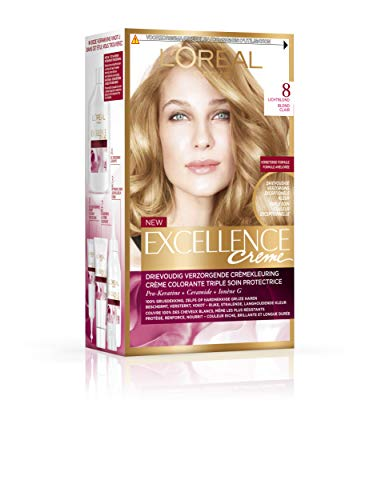 Loreal Excellence 8 lichtblond - 1set