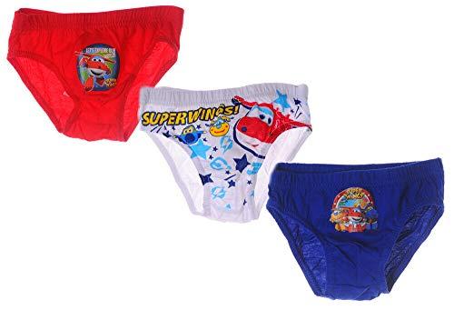Unterwäsche Set Kinder Höschen Super Wings Slips Unterhosen 3er Pack Disney (4/5)