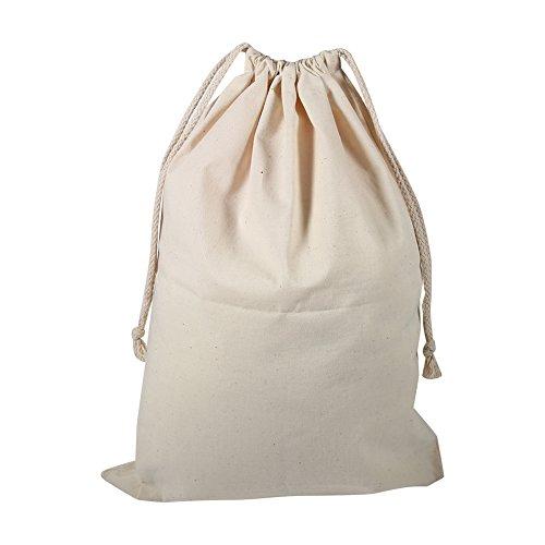 Bolsa de Algodón con Cuerdas, Mochila Cordónes de Algodón Bolsa de Almacenamiento [22*28cm]