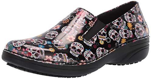 Spring Step Professional Women's Ferrara-SMSKL Uniform Dress Shoe, Black, 10 Medium US