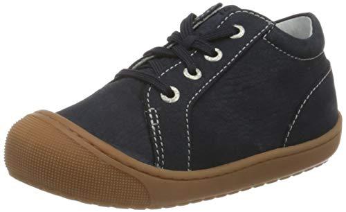 Lurchi Baby Jungen INO Sneaker, Blau (Navy 42), 25 EU