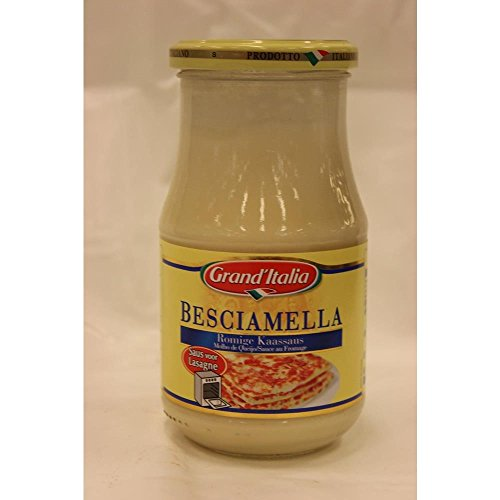 Grand'Italia Besciamella Romige Kaassaus 400g Glas (Bechamel - Cremige Käse Sauce)