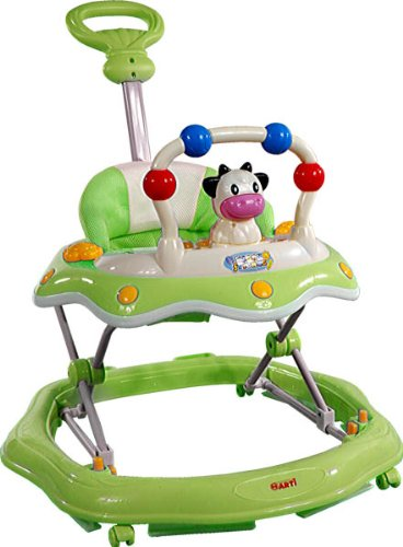 Baby Walker - Andador con actividades - Primeros Passos ARTI 6320AT Cow/Vaca Green